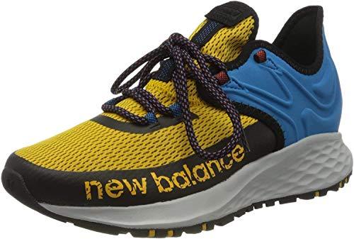 New Balance Fresh Foam Roav Trail, Zapatillas de Running para Asfalto Hombre, Amarillo (Varsity RG), 43 EU