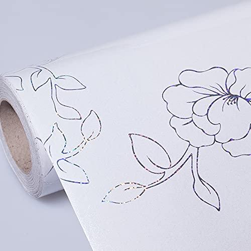 JZLMF Vatten- och oljeresistenta kylskåpsklistermärken luftkonditionering tvättmaskin möbelrenoveringsklistermärken självhäftande bänkskivor pall skåp skoskåp folie