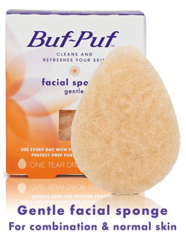 Buf-Puf Gentle Facial Sponge, Exfoliating,...