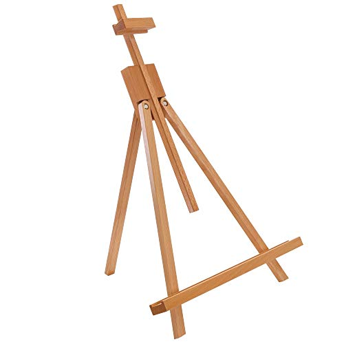 "U.S. Art Supply Topanga 31"" High Tabletop Wood Folding A-Frame Artist Studio Easel"