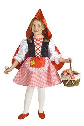 Ciao Cappuccetto Rosso Costume Bambina, 3-4 Anni