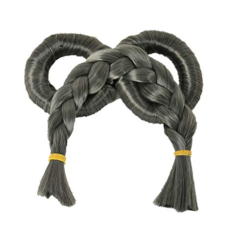SLL Peluca de fibra química de alambre de alta temperatura 50 cm moda pop peluca cómoda hermosa peluca