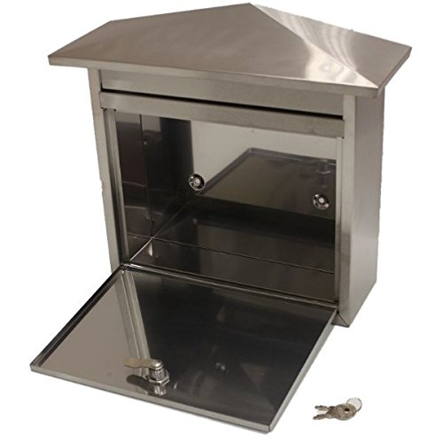 Generic NV _ 1001002861_ YC-UK2largeloc buzón exterior ailbo tbox de acero inoxidable...