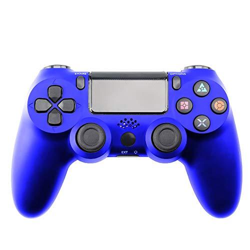PDTZUsb filaire / sans fil Bluetooth Gamepad Joystick pour Ps4 Controllersans fil bleu