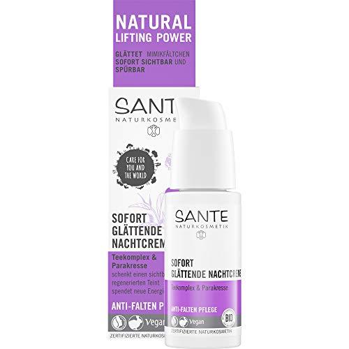 Sante Bio Sofort glättende Nachtcreme (6 x 30 ml)