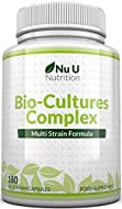 Bio-Cultures 180 Capsules (6 Month Supply)   Vegetarian Multi Strain   High Strength Cultures Includ...