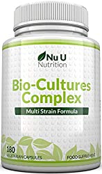 ✔ MAXIMUM POTENCY 10 BILLION CFUS SOURCE POWDER CAPSULES & 5 ACTIVE STRAINS - Nu U Bio-Cultures complex formula offers 5 strains, most of our competitors who only offer one. Each specially formulated strain is chosen for its effectiveness, 80% of you...