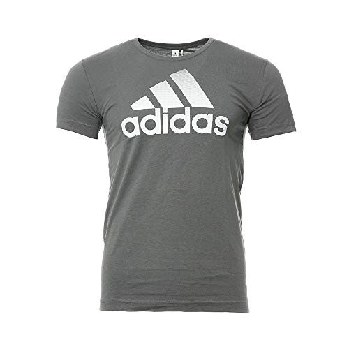 adidas Tee-Shirt Gris Homme QQr Bos Fade
