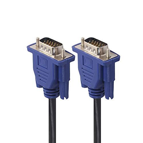 VGA HD15 Male to Male Video Coaxial Monitor Cable Compatible for Acer SB270 SB230 SB220Q R251 R240HY R271 CB272 CB242Y EZ321Q V246HQL V176L V206HQL V226HQL G257HL G206HQL K242HQL ET2 T272HL
