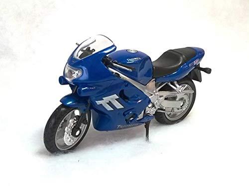 Welly Triumph Tt600 Tt 600 2002 Blau 1/18 Modellmotorrad Modell Motorrad