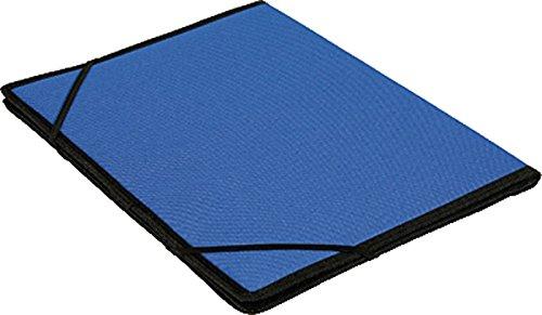 Dufco 51500.03802 documentenmappen Soft Touch nylon, koningsblauw/zwart