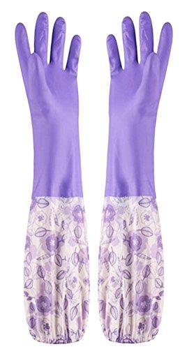 Des gants imperméables Velvet Worm Gants de nettoyage de la vaisselle -10