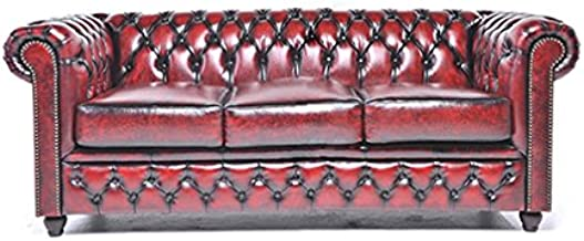 Amazon.es: chesterfield sofa piel