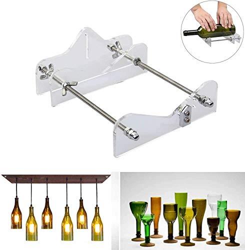 TRYSHA Flaschen-Glasschneider Werkzeug-Fachmann for Flaschen Schneiden von Glas-Flaschen-Cutter DIY Cut Werkzeuge Maschine Wein Bier Weinglas