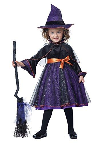 Toddler Hocus Pocus Witch Costume - 4/6