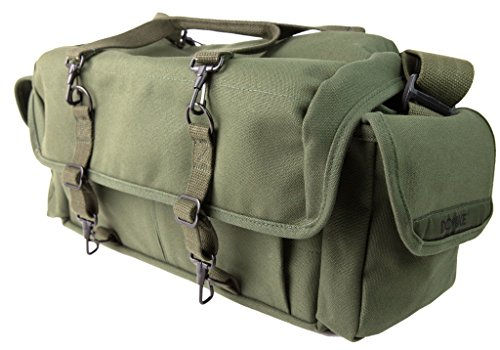 Domke 700-10D F-1X - Bolsa para cámaras de Fotos y Accesorios, Color Verde