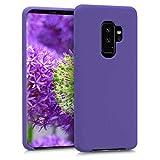 kwmobile Funda para Samsung Galaxy S9 Plus - Carcasa de TPU para teléfono móvil - Cover Trasero en Violeta Mate