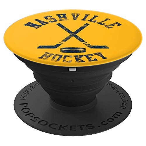 Vintage Nashville Hockey PopSockets Grip and Stand for Phones and Tablets