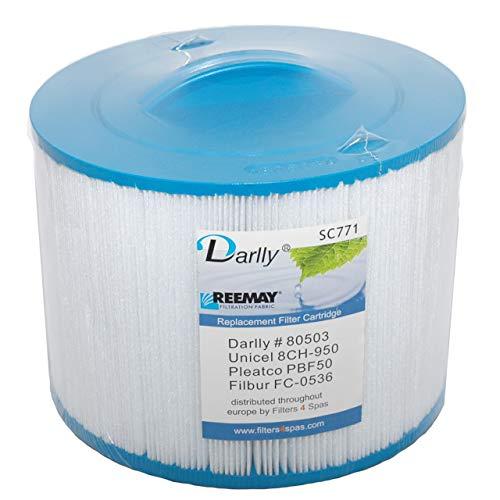 Darlly® Filter Ersatzfilter SC771 Lamellenfilter Villeroy & Boch Spas Whirlpool BJ 2002-2013