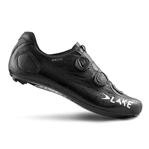 Lake CX332 Black Carbon Road Shoe