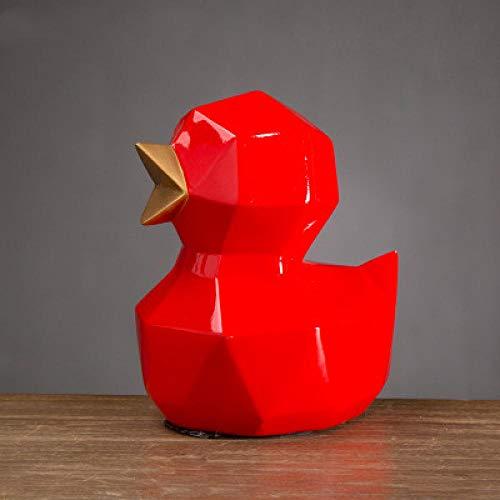 LJXLXY Decoración Manualidades Origami geometría Animal Pollito Lindo Adornos habitación Infantil Estudio 3