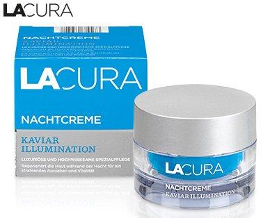 Lacura Kaviar Illumination Nachtcreme Inhalt: 50ml Luxuriöse und hochwirksame Spezialpflege für straffe und geglättete Haut.