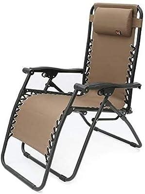 ADHW Recliner Outdoor Chair,Adjustable Aluminum Recliner Lounger,Beach Sunbathing,Sun Lounger,Zero Gravity Outdoor Chair