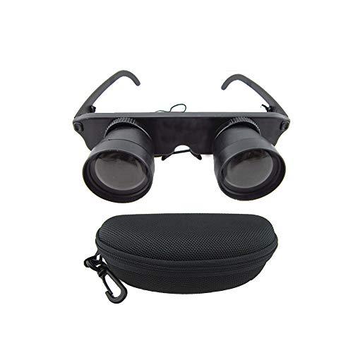 Fernglas Teleskop Brille Outdoor Angeln Game Watching Zubehör mit Nylon Tasche 1 Set 3x28