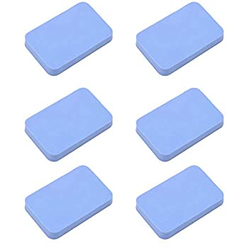 MOTZU 6 Pieces Table Tennis Rubber Cleaning Sponge Ping Pong Paddle Cleaner Racket Rubber Care