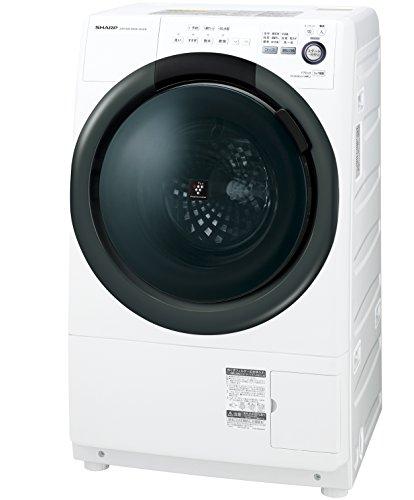 シャープ 洗濯乾燥機  ドラム式 左開き 7kg ホワイト ES-S7B-WL