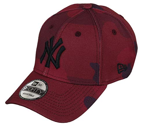 Unbekannt New Era 9forty Strapback Cap NY Red Camo, OSFA