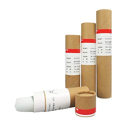 Tansoole - Kapillarröhrchen Schmelzpunkt beide Enden offen 500 Stück, (0.9-1.1)×160mm