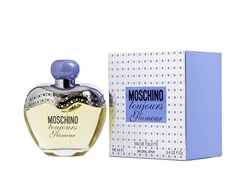 Moschino Toujours Glamour por Moschino Eau de Toilette Spray de 3.4oz