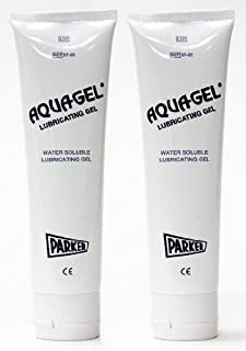 Aquagel Lubricating Jelly 5 oz Tube - Parker Laboratories - (Pack of 2)