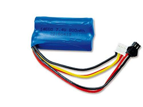 Amewi 28889 - Batteria agli ioni di litio da 7,4 V, 800 mAh per auto 1:12 HBX RC Cars