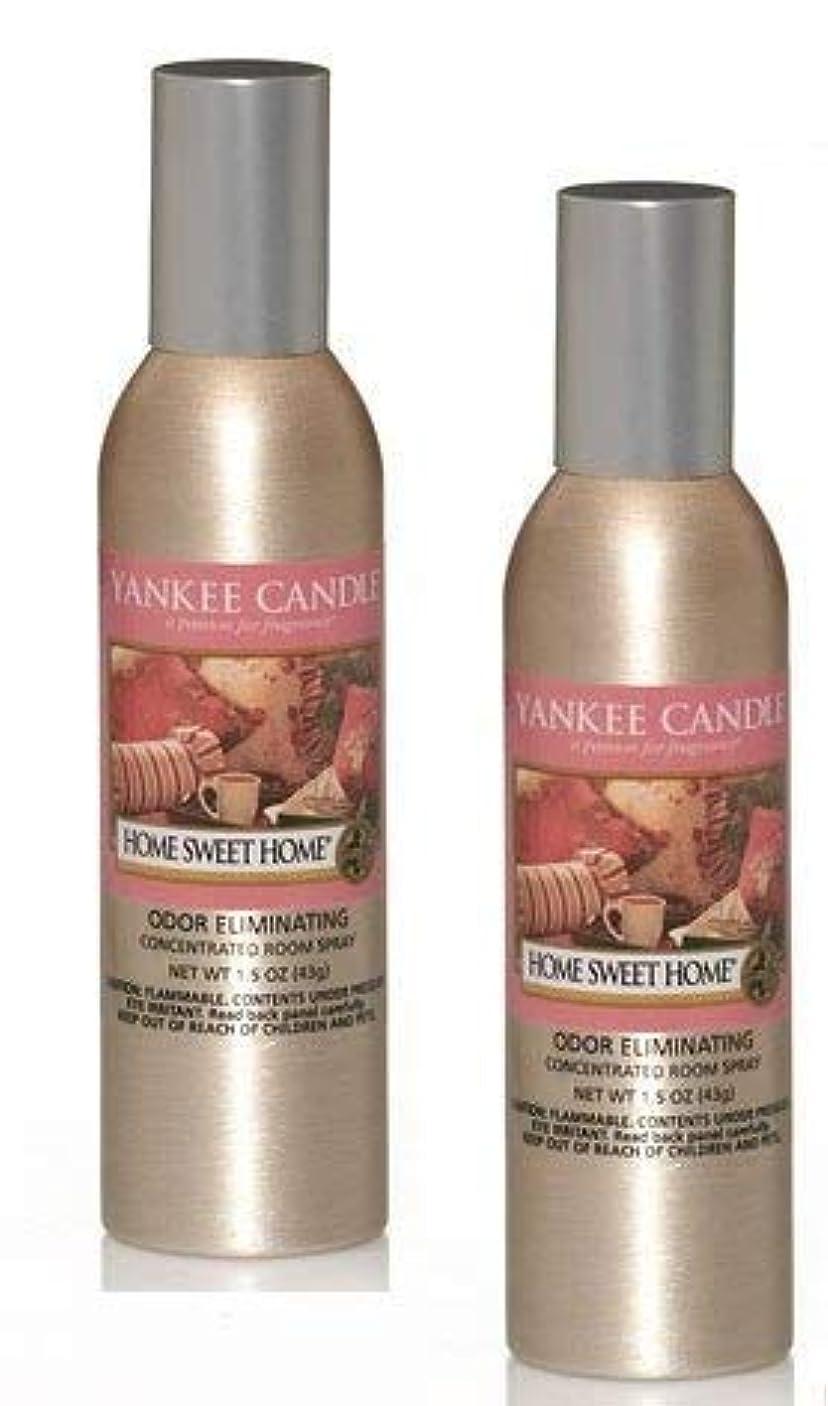 汚染された失速比べるYankee Candle 2パックHome Sweet Home Concentrated Room Spray 1.5オンス