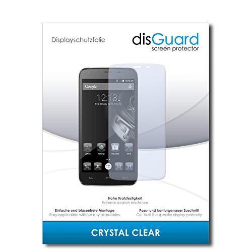 disGuard® Bildschirmschutzfolie [Crystal Clear] kompatibel mit Homtom HT6 [3 Stück] Kristallklar, Transparent, Unsichtbar, Extrem Kratzfest, Anti-Fingerabdruck - Panzerglas Folie, Schutzfolie