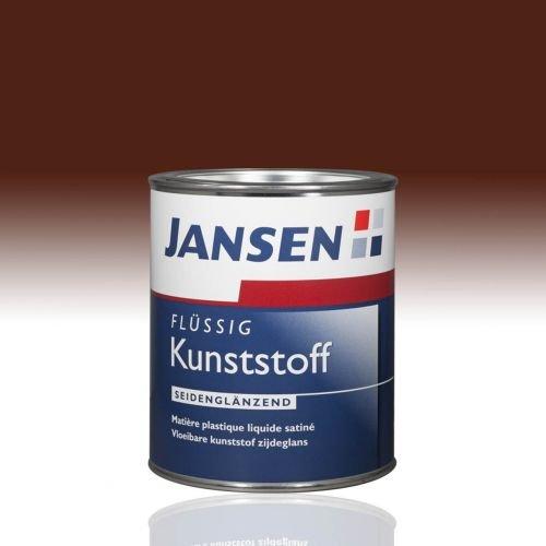 Jansen Flüssig Kunststoff nußbraun 8011 0,75l