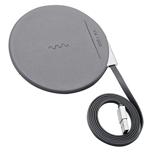 Wireless Charger, BOWOO Wireless Charge Charging Pad for iPhone X, iPhone 8/8 Plus,Samsung Galaxy S8/S8 Plus,S7/S7 Edge,S6/S6 Edge,Note 8/Note 5