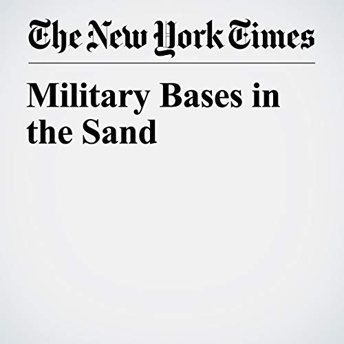 Military Bases in the Sand copertina