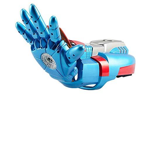 Aida Bz Elektrische Wasserpistole, kontinuierliche Wasserbombe, 20 m Reichweite, geeignet für Shootout-Spiele, Rollenspiele,Blue