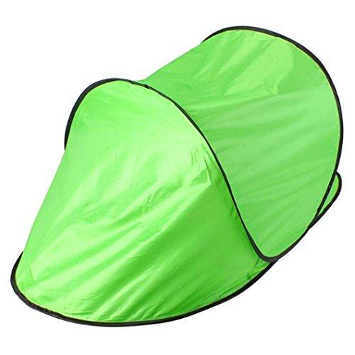 bescita Outdoor leichtes Pop Up Wurfzelt 1-2 Personen Zelt Camping Festival 142 x 72 x 60 cm