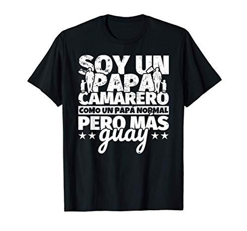 Hombre Camarero Regalo de padre para papá - Soy un papá Camarero co Camiseta