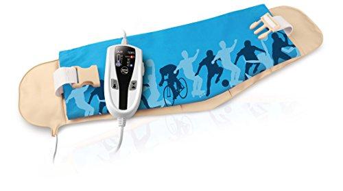 Daga Almohadilla lm Sport - Almohadilla eléctrica, 70 x 22 cm, 4 niveles de temperatura, Autostop de seguridad, calentamiento rápido, especial abdominales y lumbares
