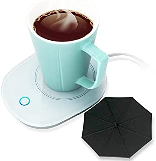 Mug Warmer Coffee Warmer with Automatic Shut Off to Keep Temperature Up to 131¨H/ 55¡æ with a Silicone Mug Cover Safely Us...