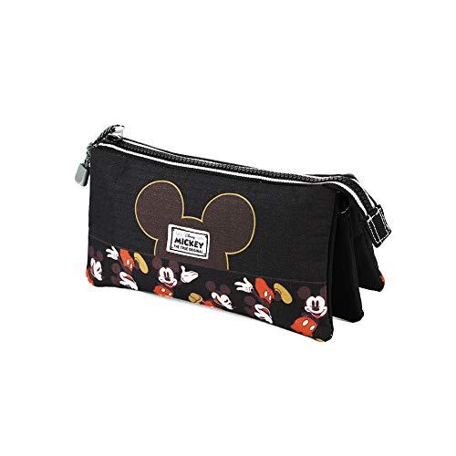 Mickey Mouse True-Estuche Portatodo Triple HS
