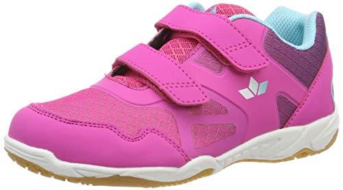 Lico Hot Indoor V Multisport Indoor Schuhe Mädchen, Pink/ Lila/ Türkis, 33 EU