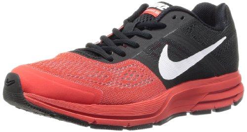 Nike, Air Pegasus+ 30, Scarpe Sportive, Uomo, Nero (Black/White-LT Crimson), 40