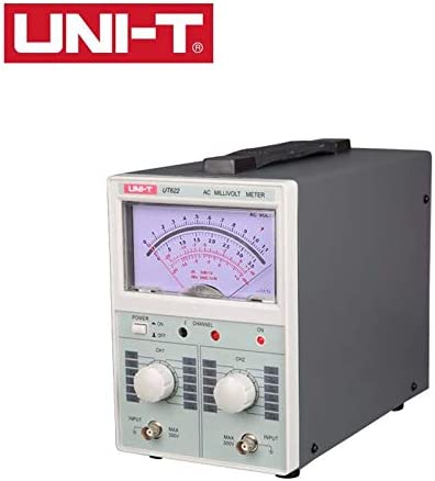 信頼 UT622 Dual Channel AC 人気海外一番 digital Milli millivolt meter voltmeter
