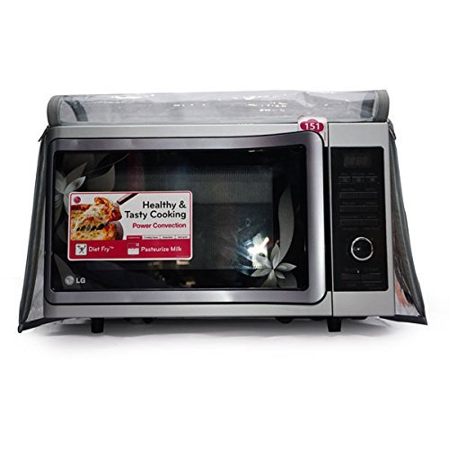 Aditya Accessories Fully Transparent Safety Microwave Oven Covers with Dual Zipper and...